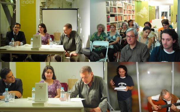 Lançamento SAGRAÇÃO DO DIA de Ana Eugénio, 25.07.09, L. INDEX